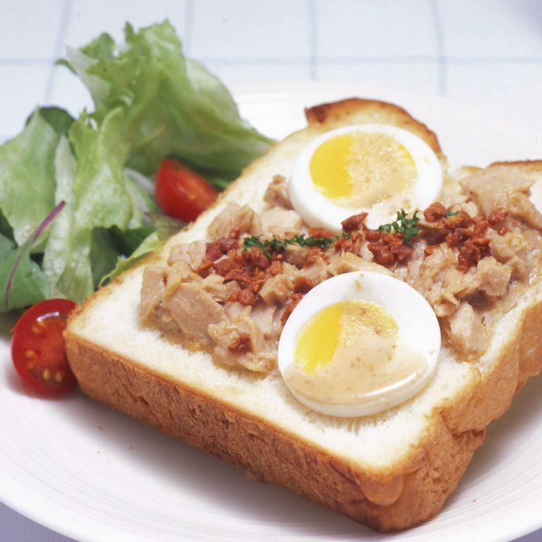 Open Tuna Sandwich