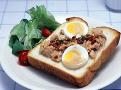 Recipe_Open Tuna Sandwich