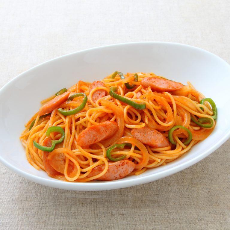 鰹魚醬油風味的拿坡里義大利麵