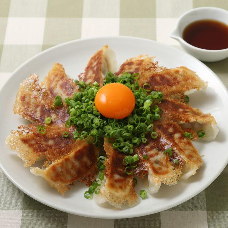 裝飾餃(蔥・蛋黃)