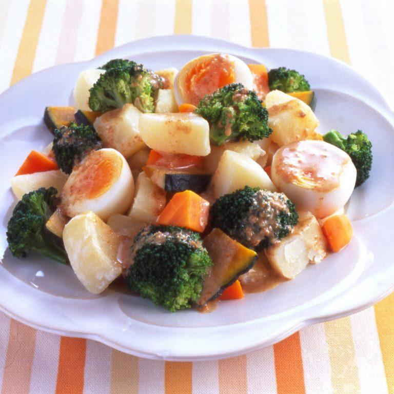 Warm Vegetables Salad