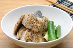 鯖魚芝麻燒
