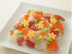 海鮮散壽司