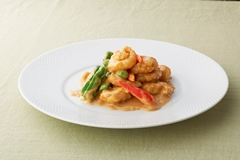 Sautéed Shrimp with Sweet Peppers