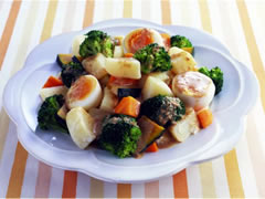 Warm Vegetables Salad