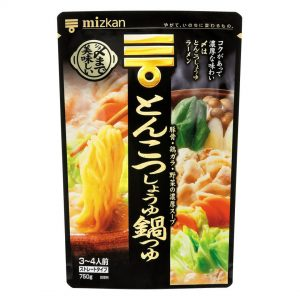 Soup Base Hot Pot Pork Bone Soy Sauce Nabe-Straight Type 750g
