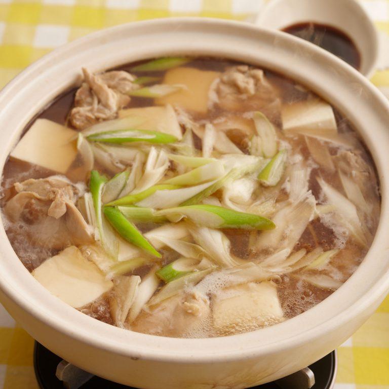 雞肉湯豆腐鍋