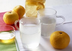 柚子热醋饮