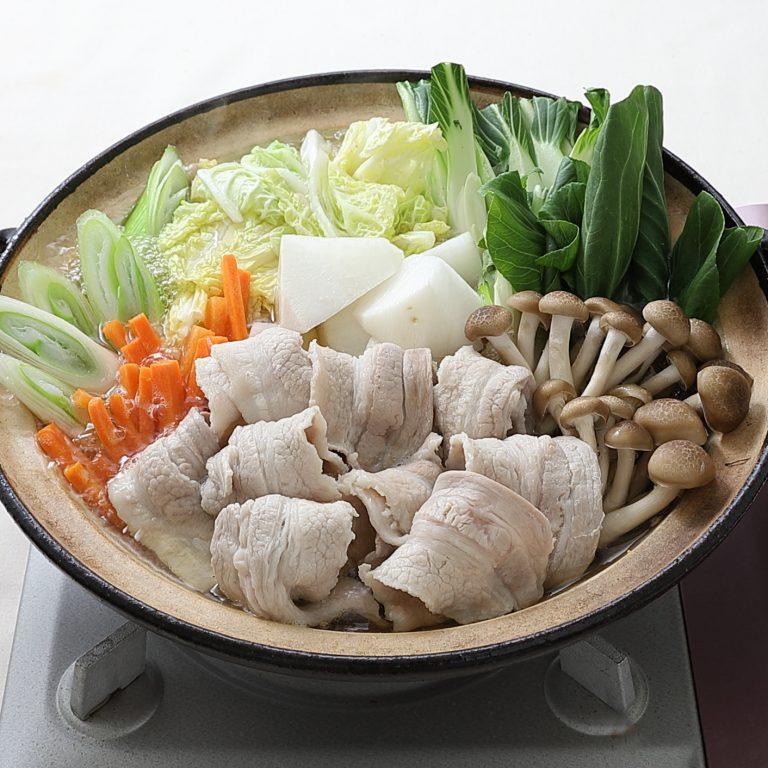 櫻島白蘿蔔黑豬肉海陸鍋