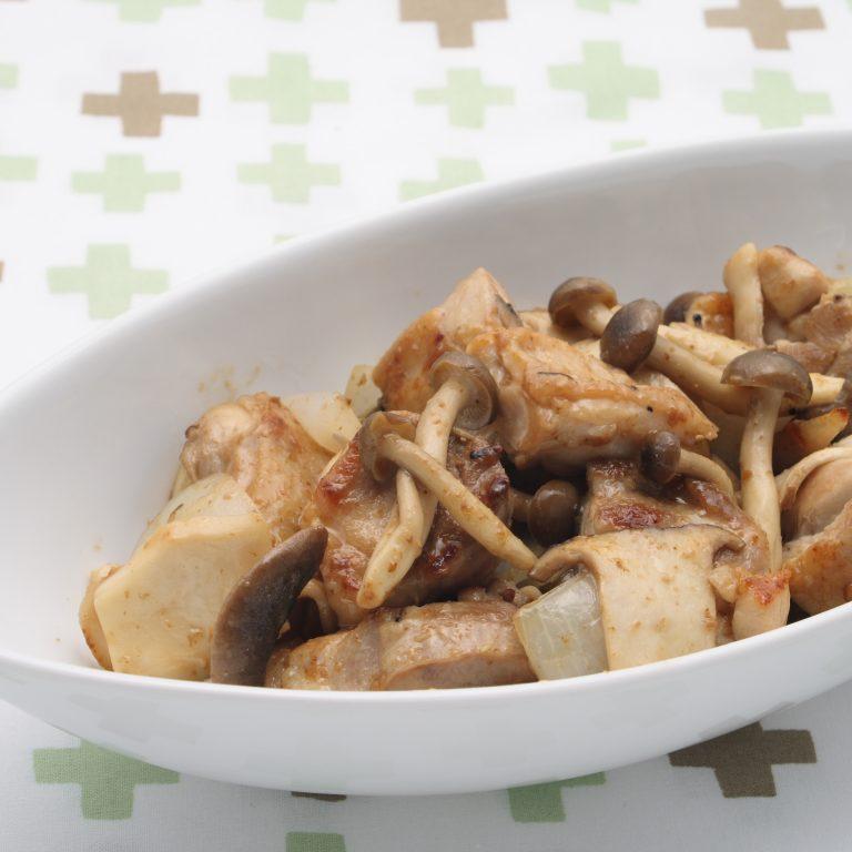 醬炒雙菇雞肉