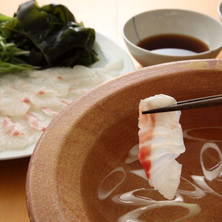 鯛魚片涮涮鍋