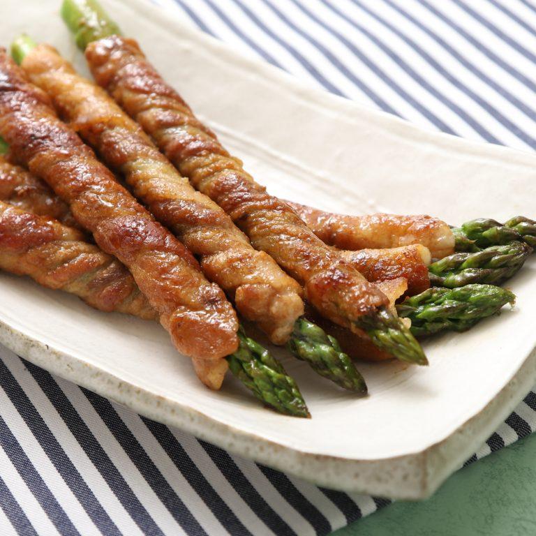 清爽蘆筍肉卷