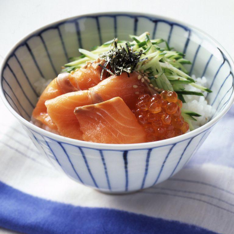 サーモンおやこ寿司ライス