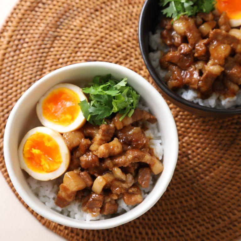 魯肉飯(柑橘醋醬汁)