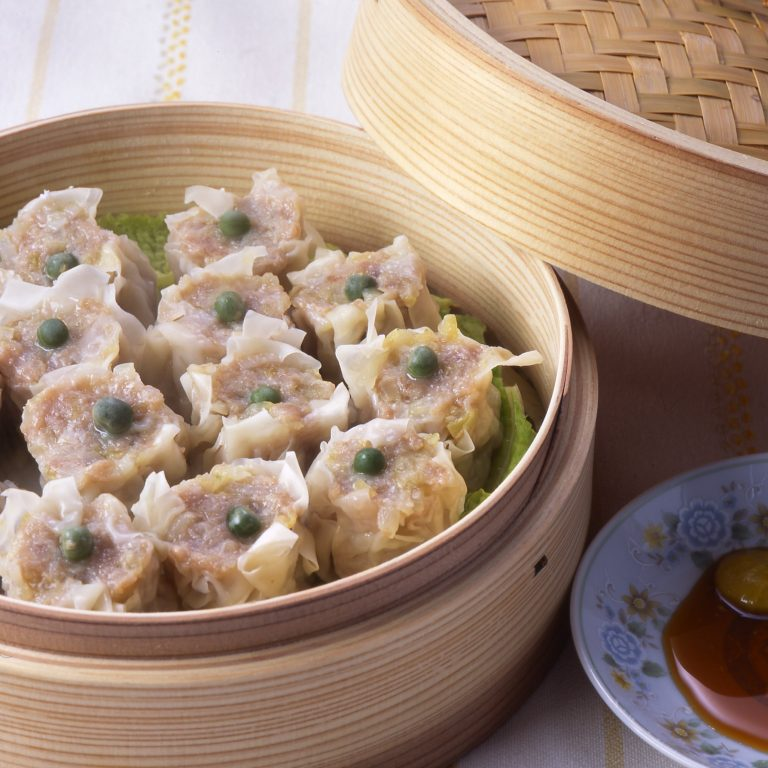 Steamed meat dumplings (Siew Mai)