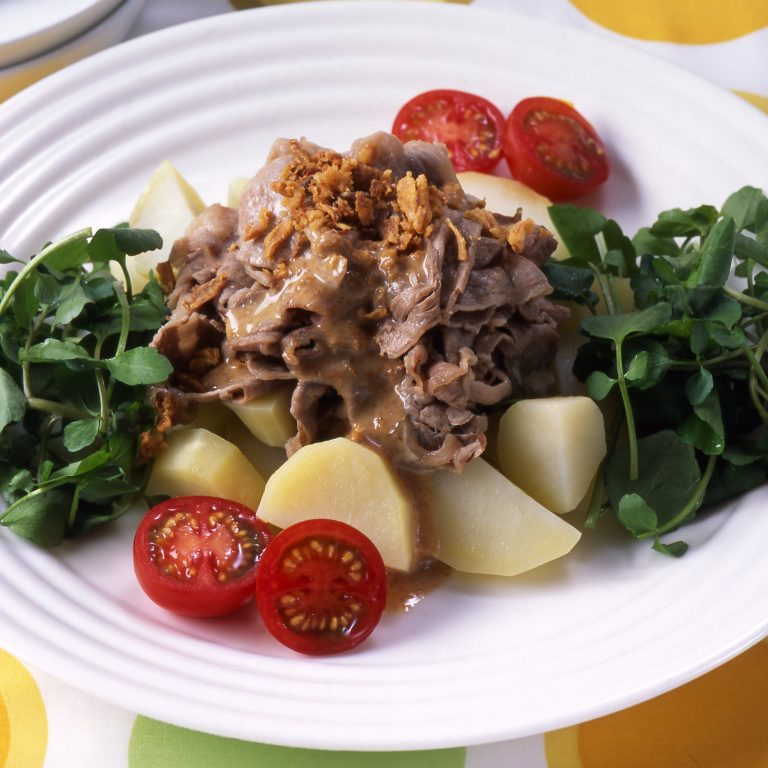 Shabu-shabu beef Salad