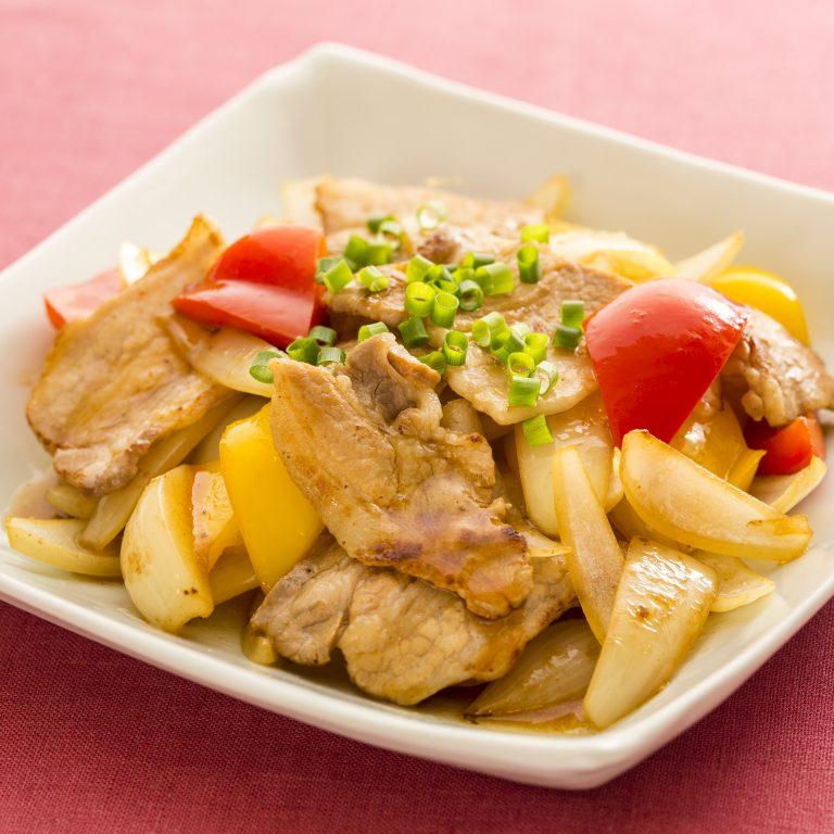 鮮彩時蔬炒豬肉