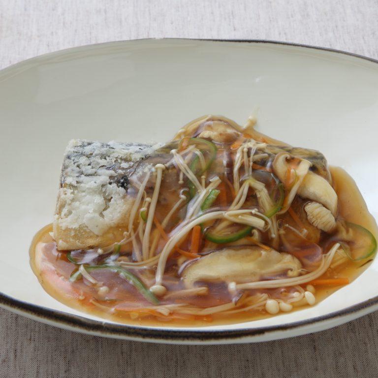甜醋醬燴鯖魚