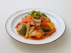 繽紛鮮蔬日式豬排