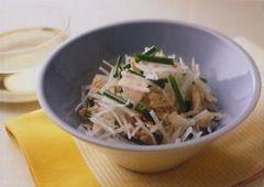 白蘿蔔與鮪魚沙拉