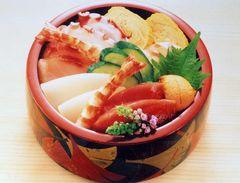 海鮮壽司丼