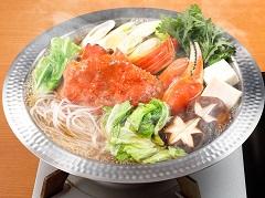 螃蟹壽喜燒鍋