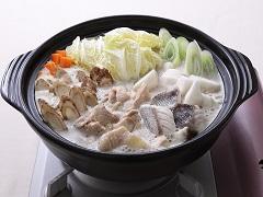 鱈魚牛蒡芝麻豆乳鍋