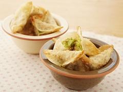 蠶豆鮪魚咖哩餃