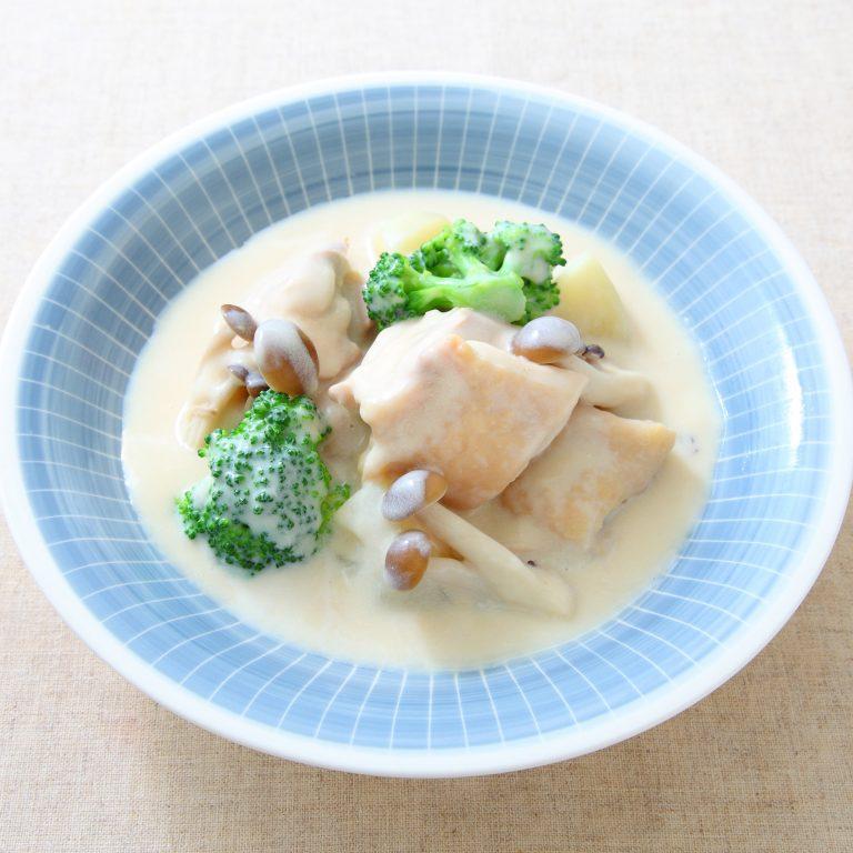 鰹魚醬油之奶油白醬燉雞