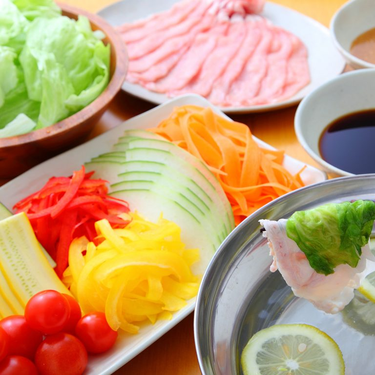 Summer Vegetable Shabu-Shabu