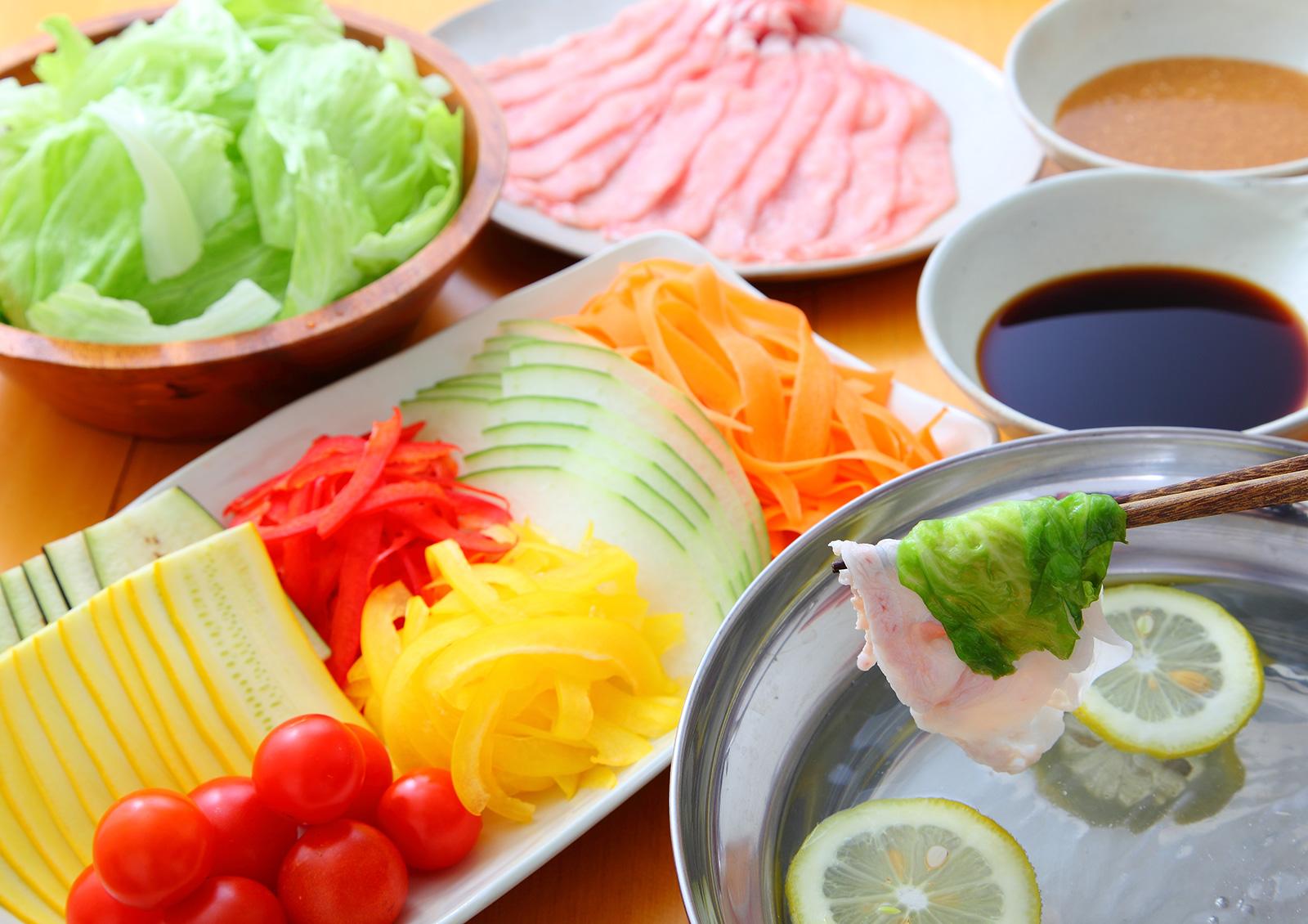 夏蔬涮涮鍋